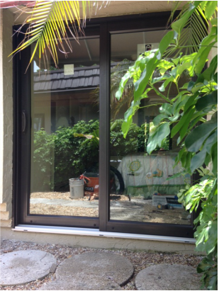 sliding glass door replacement retrofit into any existing opening energy efficiency superior glass insulation and less gap to door clearance