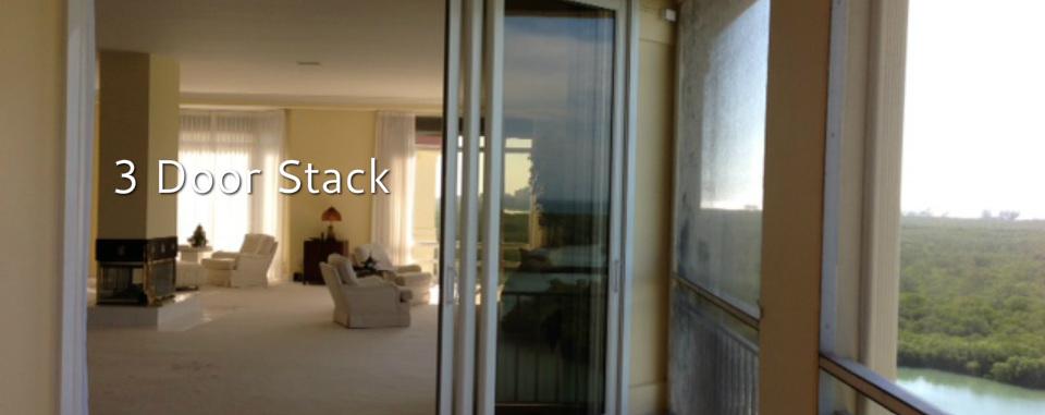 Lanai Sliding Glass Doors. & Sliding Glass Door Installation- Storm Protection.